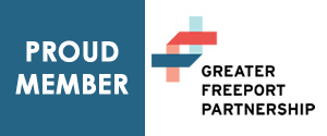 Proud Member of Greater Freeport Partnership